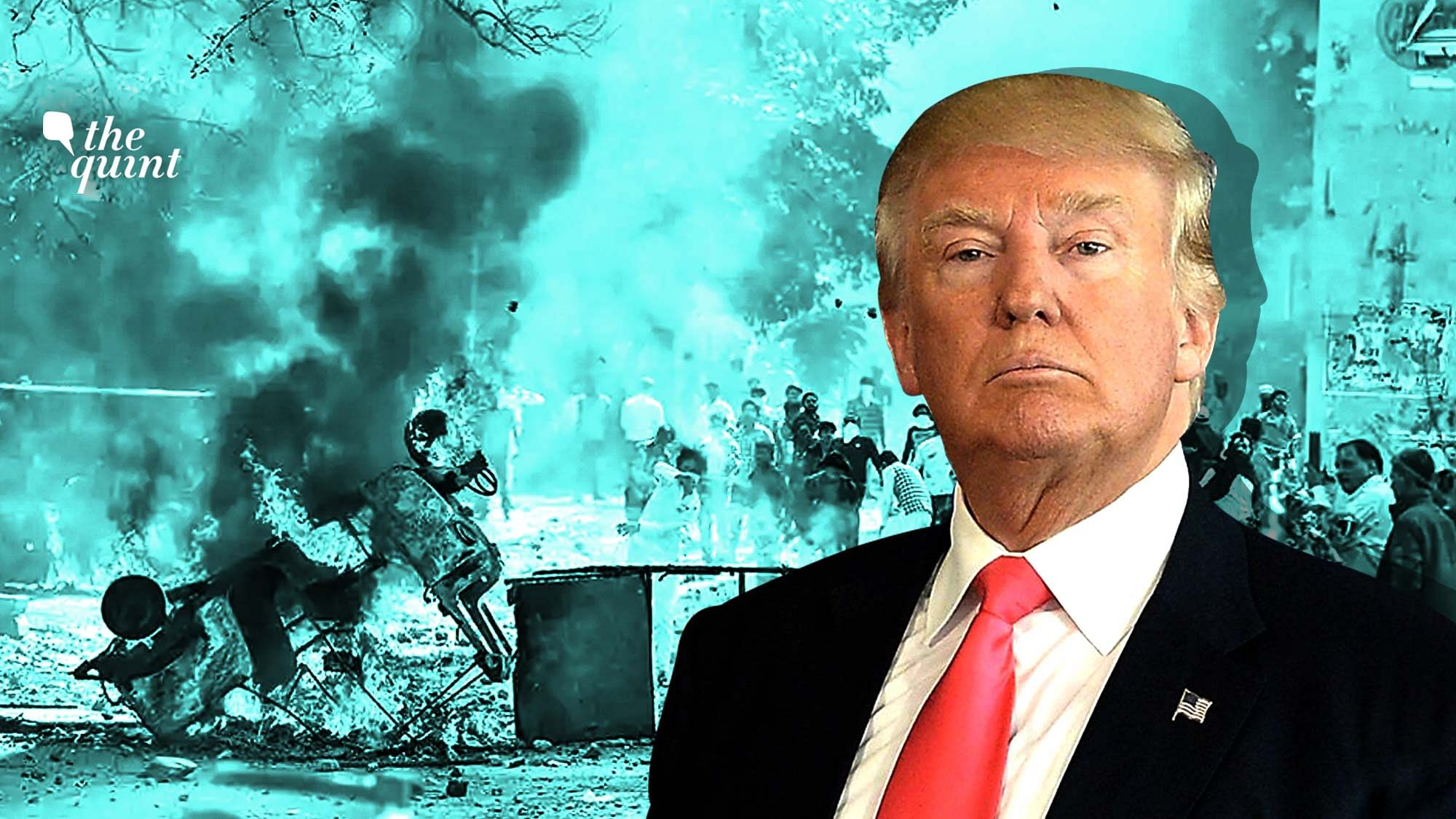 The police claims that the conspiracy to carry out a 'big blast' during US President Donald Trump's visit in February 2020 was hatched between suspended AAP councillor Tahir Hussain, former JNU student Umar Khalid and United Against Hate founder Khalid Saifi at Shaheen Bagh.