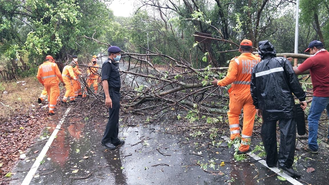 Cyclone Nisarga hit the land at around 12:40 pm on Wednesday.