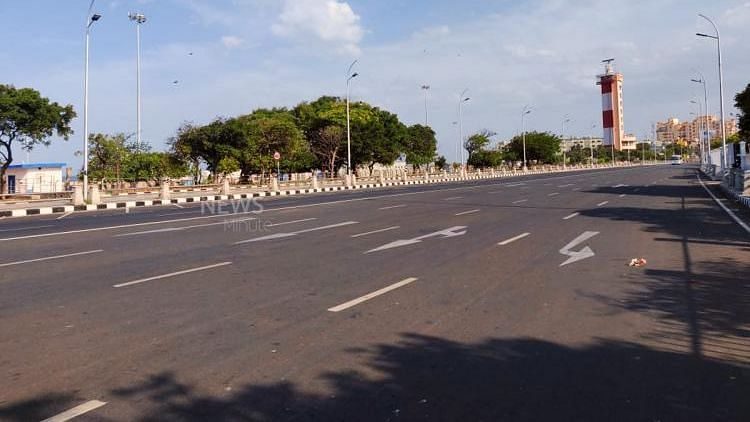 In Pics: Day 1 of Chennai Lockdown Sees a Mostly Deserted City
