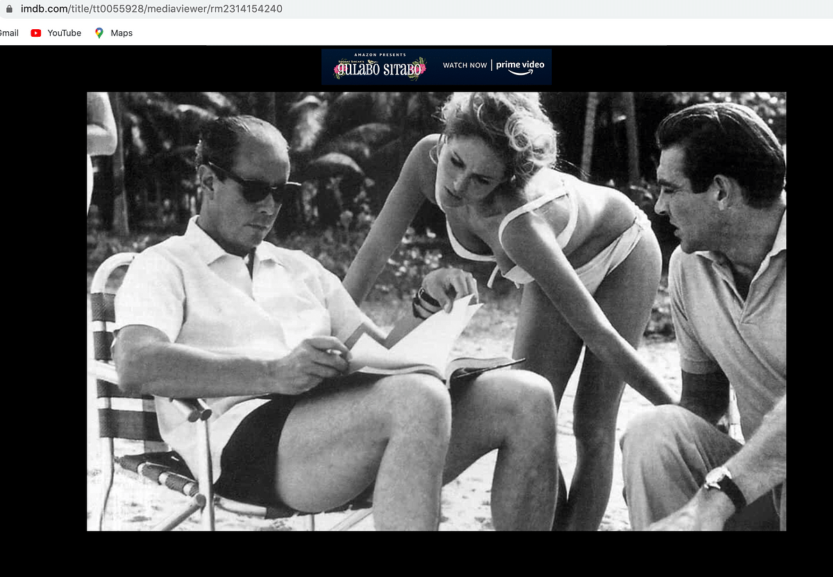 Screenshot from IMDB's website.