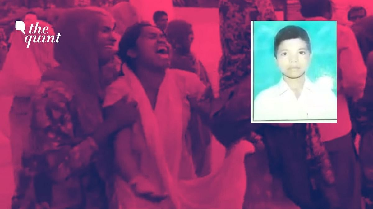 Vikas Jatav, 17, was shot dead by dominant caste youth allegedly because he defied their objections to enter a temple.