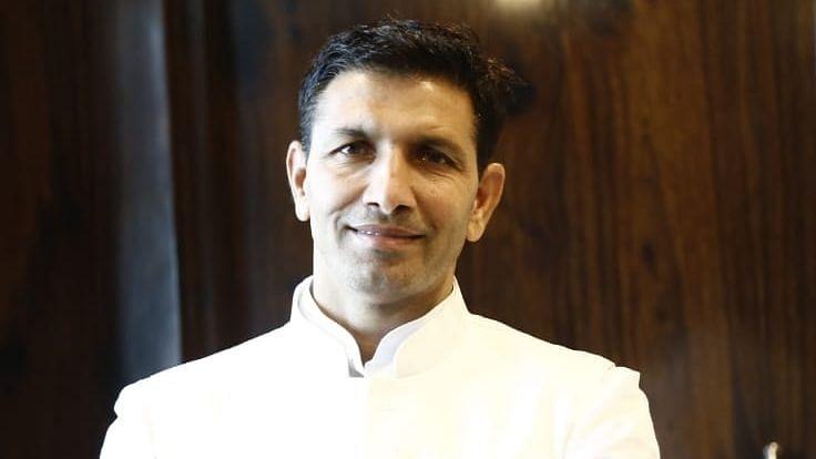 File photo of Jitu Patwari, Congress Leader.