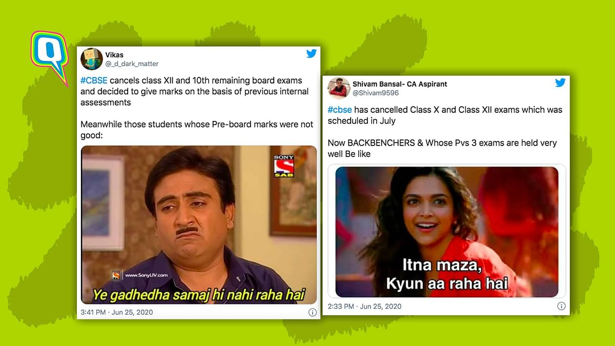 CBSE Cancels Board Exams, Twitter Celebrates With Hilarious Memes
