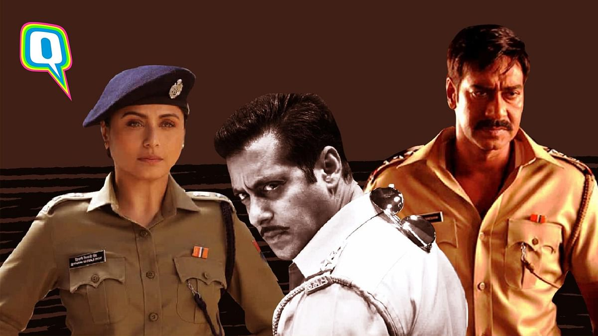 A look at how Bollywood has portrayed its cops.