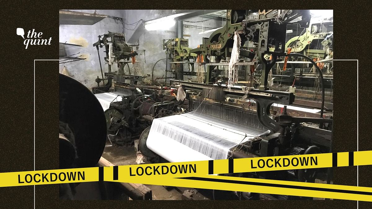 Despite the lockdown being lifted, Bhiwandi's power loom industry is yet to recover.