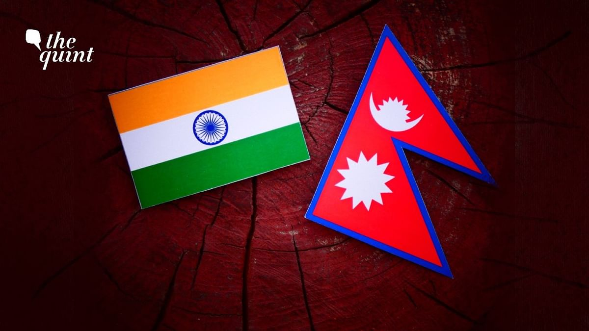 Image of Indian flag (L) and Nepal flag (R) used for representational purposes.
