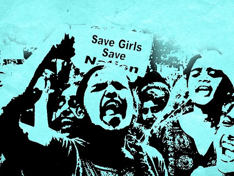 An anti-rape protest. Image used for representational purposes.