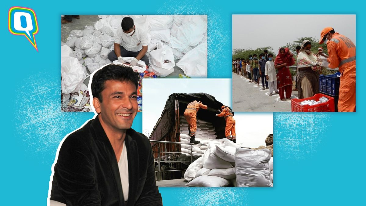 Celebrity chef Vikas Khanna launches food drive to serve 2 millions meals in a single day.