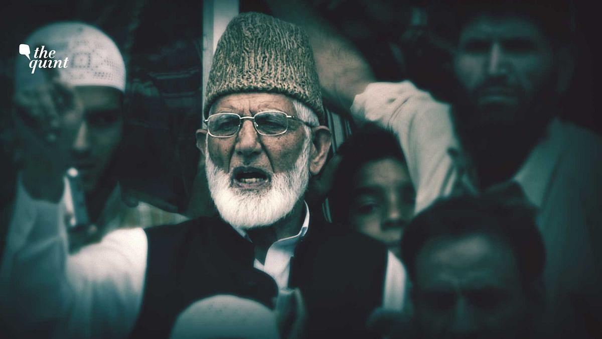 Archival image of Hurriyat leader Syed Ali Geelani.