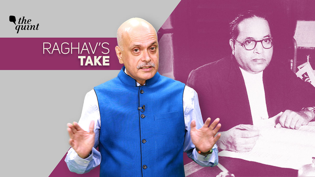 Image of Raghav Bahl, Founder-Editor, The Quint, and Dr BR Ambedkar, used for representational purposes.