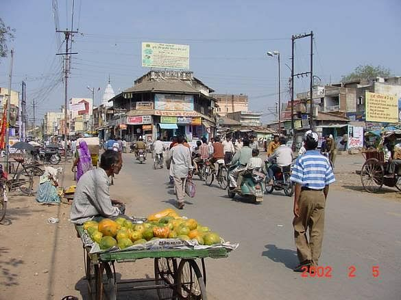 The place where Bundele claims he was thrashed by the police in Betul in Madhya Pradesh.