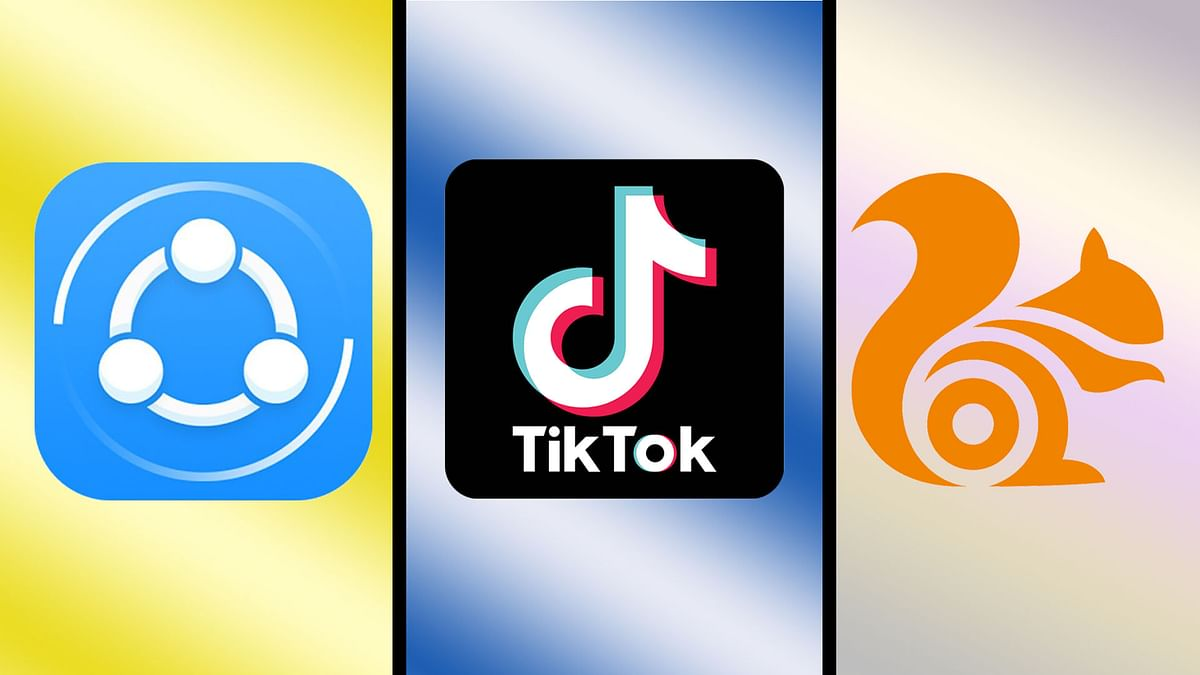 Apps like TikTok and ShareIt have been banned in India.