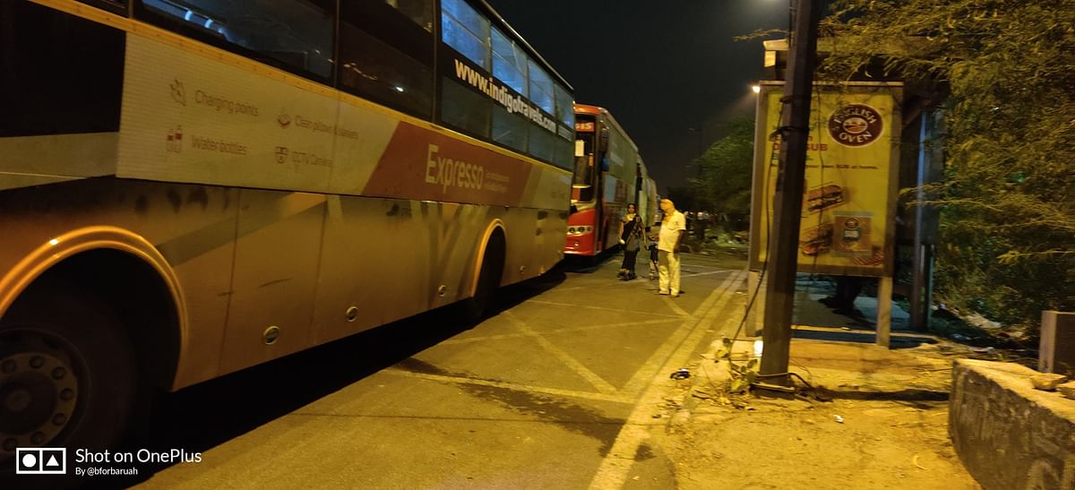 I was told that the bus would be leaving Delhi on Friday, 22 May.