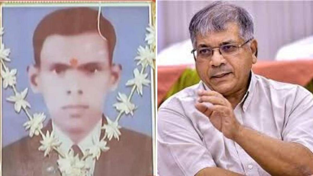 Arvind Bansode and Prakash Ambedkar.