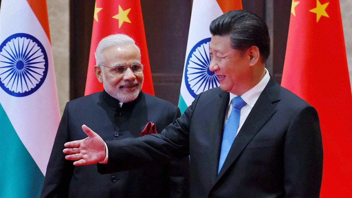 Prime Minister Narendra Modi (left) with Chinese President Xi Jinping (right) during a meeting in Xian. Archival image used for representational purposes.