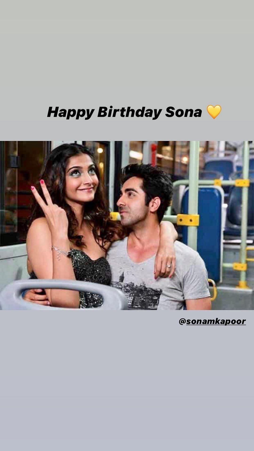 B'day Wishes Pour in For Sonam Kapoor From Kareena, KJo, Janhvi