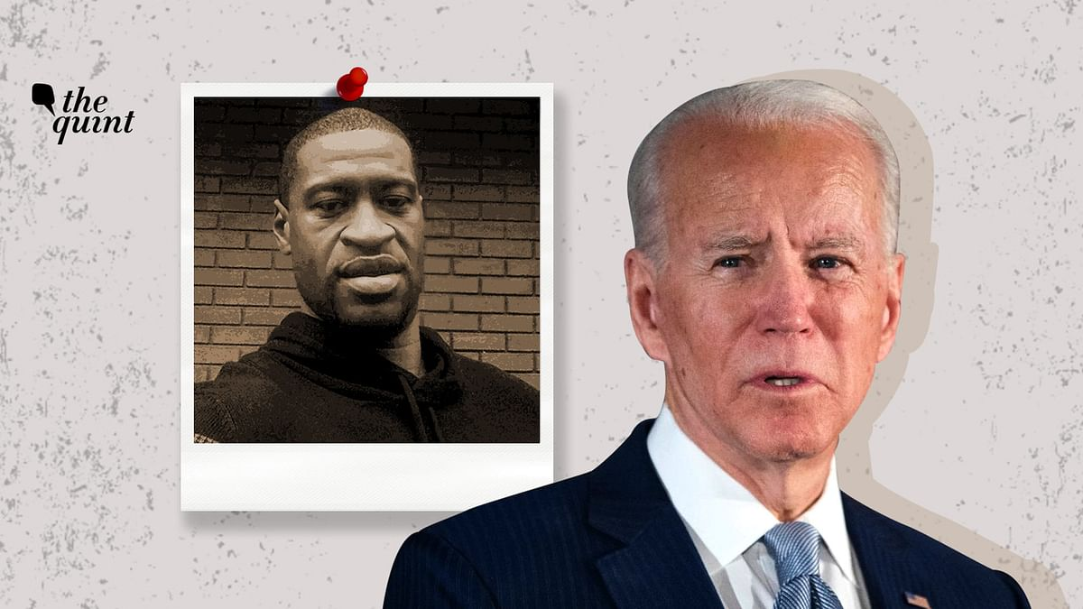 "Biden said that Floyd's daughter shouldn't have to ask the questions that too many black children have to ask for generations – ""why is daddy gone?"""