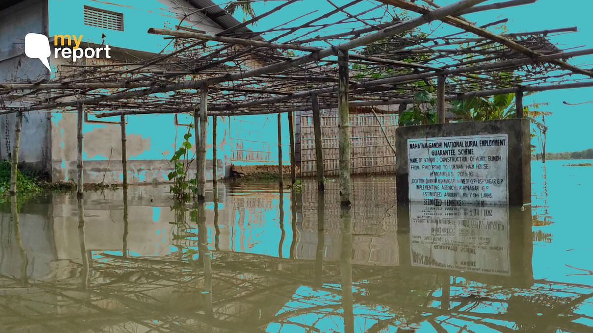 'Amid Pandemic, Assam Flood Victims Fear Spread of Infection'