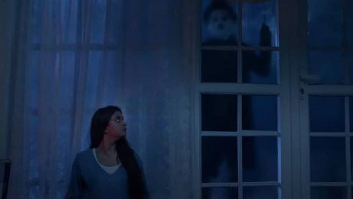 Actor Keerthy Suresh in a still from <i>Penguin</i>