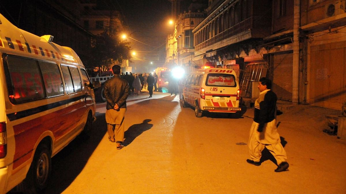 At least one person was killed and 12 others were injured in a blast in Pakistan's Rawalpindi.
