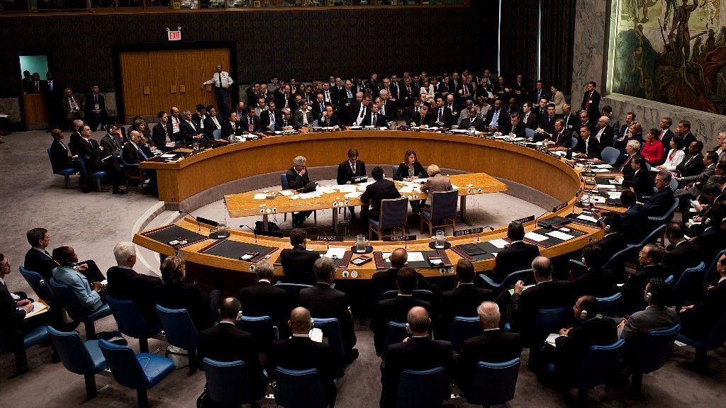 File image of the UN Security Council.