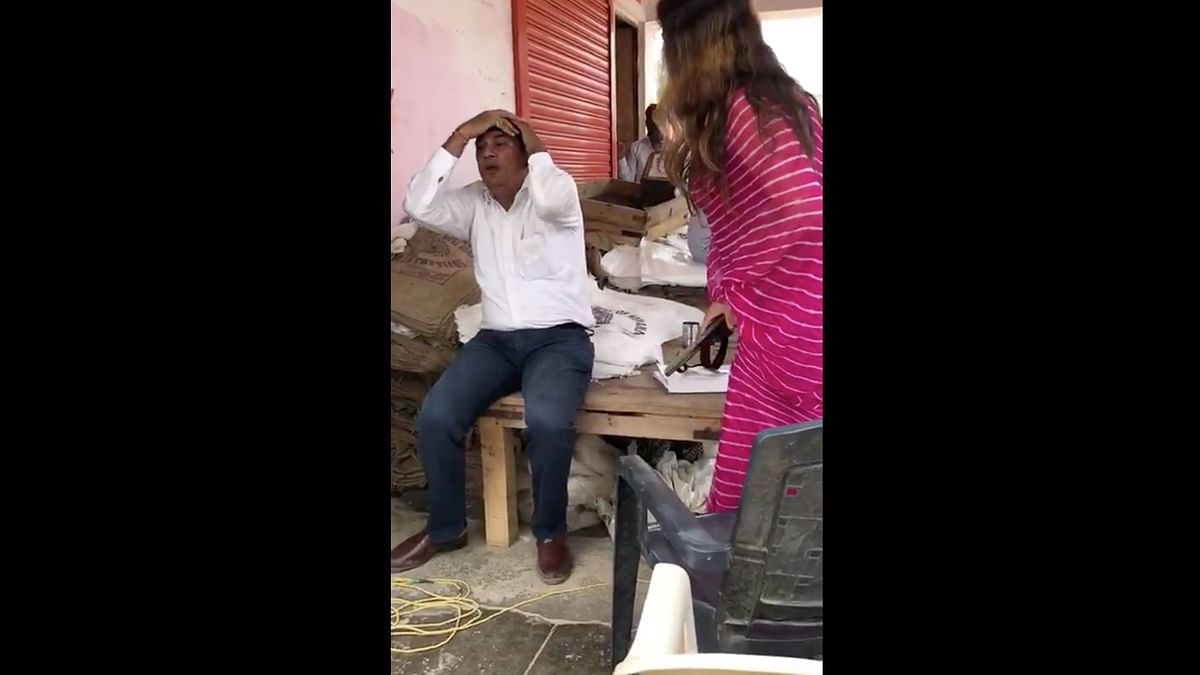 TikTok Star, BJP's Sonali Phogat Thrashes Official With Slipper