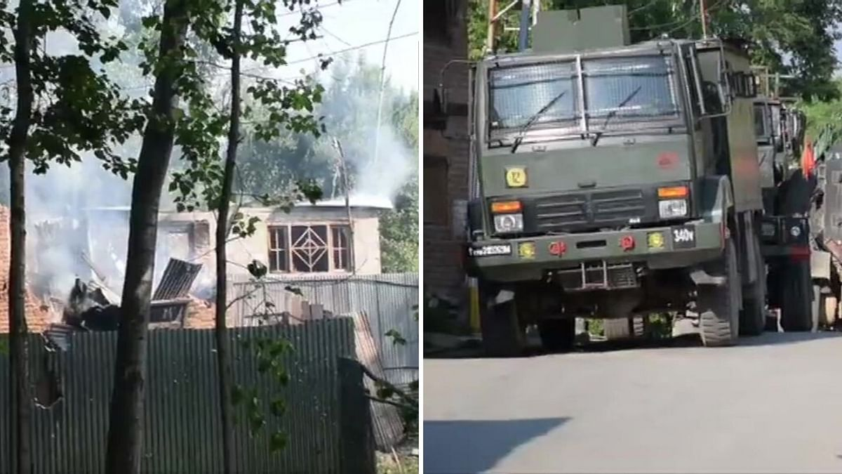 Four Hizbul Terrorists Killed in J&K Encounter, 9 Killed in 2 Days