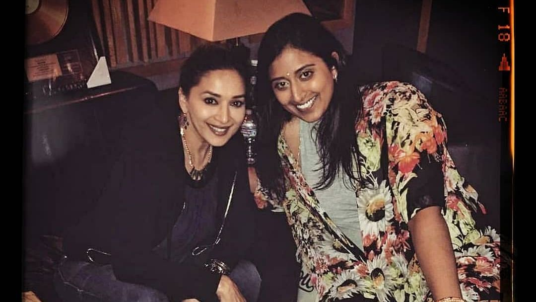 Madhuri Shares Unseen Moments From Her Debut Single 'Candle'