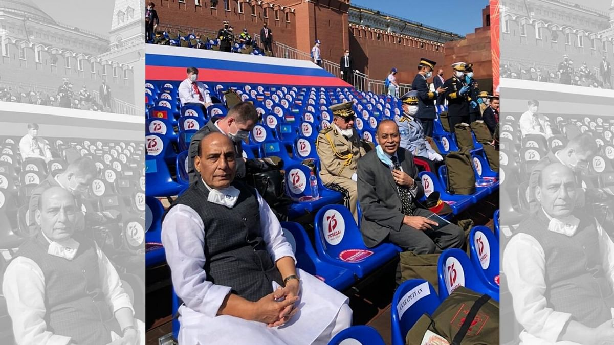 Proud To See Indian Armed Forces In Moscow Parade: Rajnath Singh