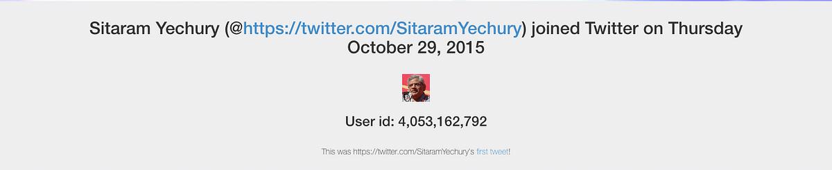 Sitaram Yechury Called Xi Jinping His 'Boss'? No, Tweet is Morphed
