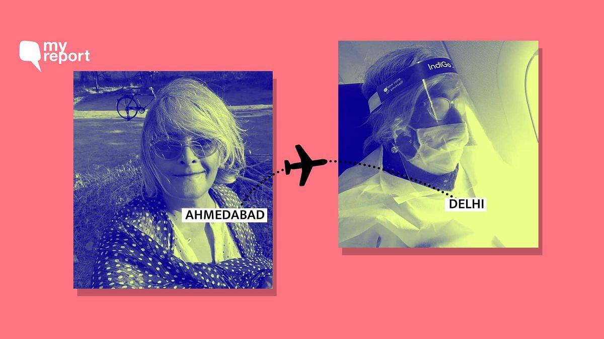 'My Dystopian Flight from Ahmedabad to Delhi Amid COVID Pandemic'