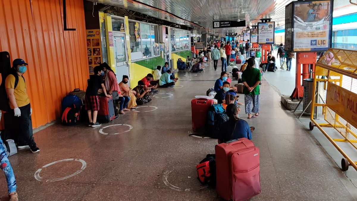 Ground Report: New Delhi Railway Station on Day 1 of  'Unlock 1'