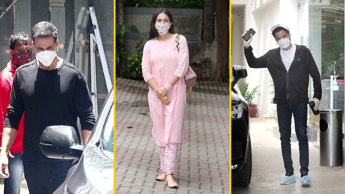 In Pics: Bollywood Celebs Finally Step Out for Dubbing, Jogging
