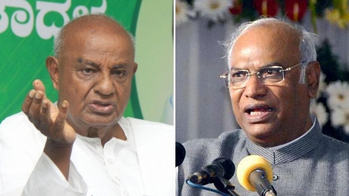 Gowda, Kharge Enter Rajya Sabha Unopposed After 2019 LS Debacle