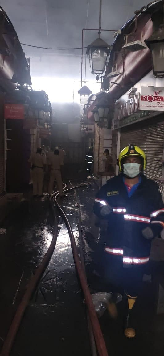 Fire Breaks Out at Mumbai's Crawford Market, No Injuries Reported