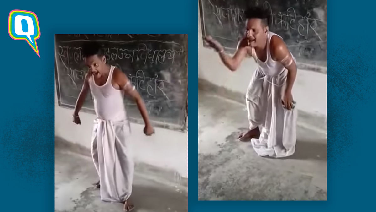 Watch: Man In Bihar Quarantine Centre  Dances to 'Chatur Naar'