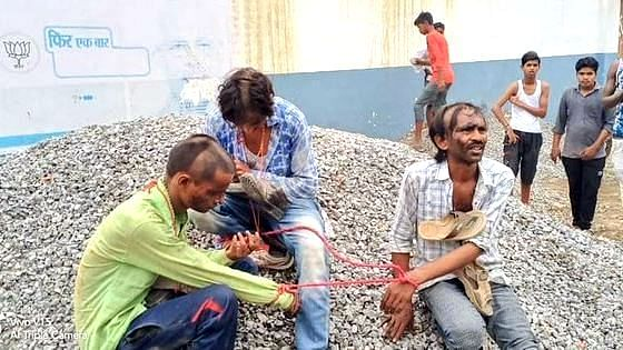 Dalit Men Beaten, Paraded With Shoes Hung Around Their Neck in UP