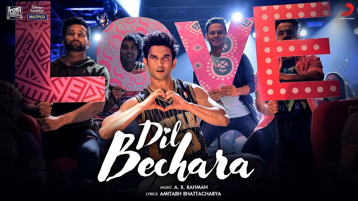 Sushant Singh Rajput in the title track of Dil Bechara.