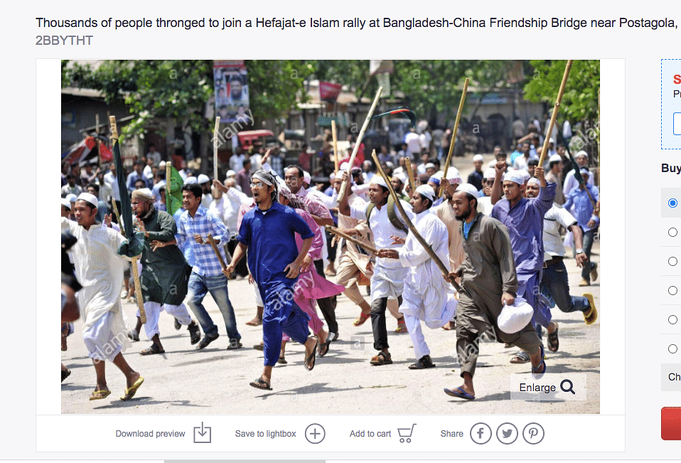 Photo of 2013 Rally in Bangladesh Passed Off as Muslims in Kerala