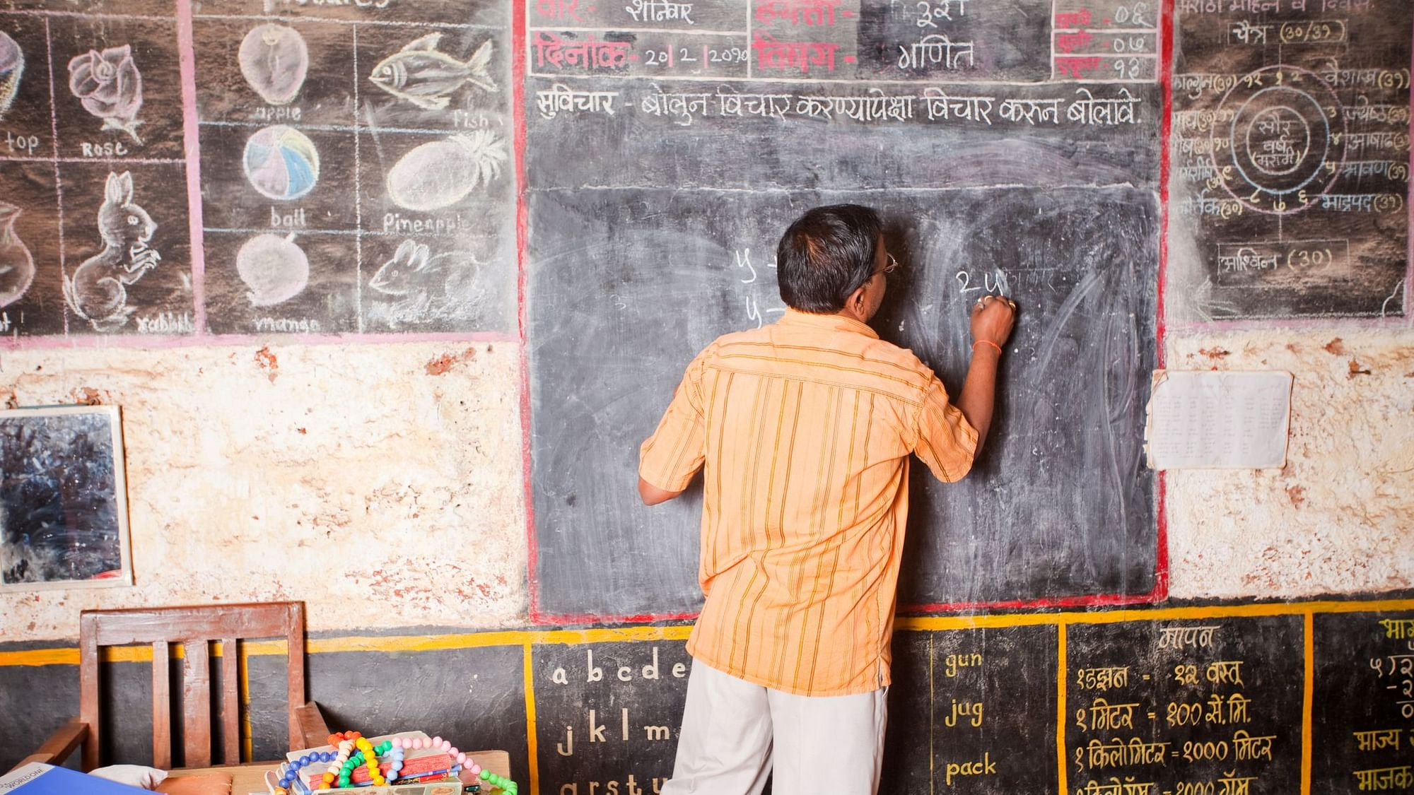 The lack of foundational skills is reflected in board exam scores of students from private rural schools.