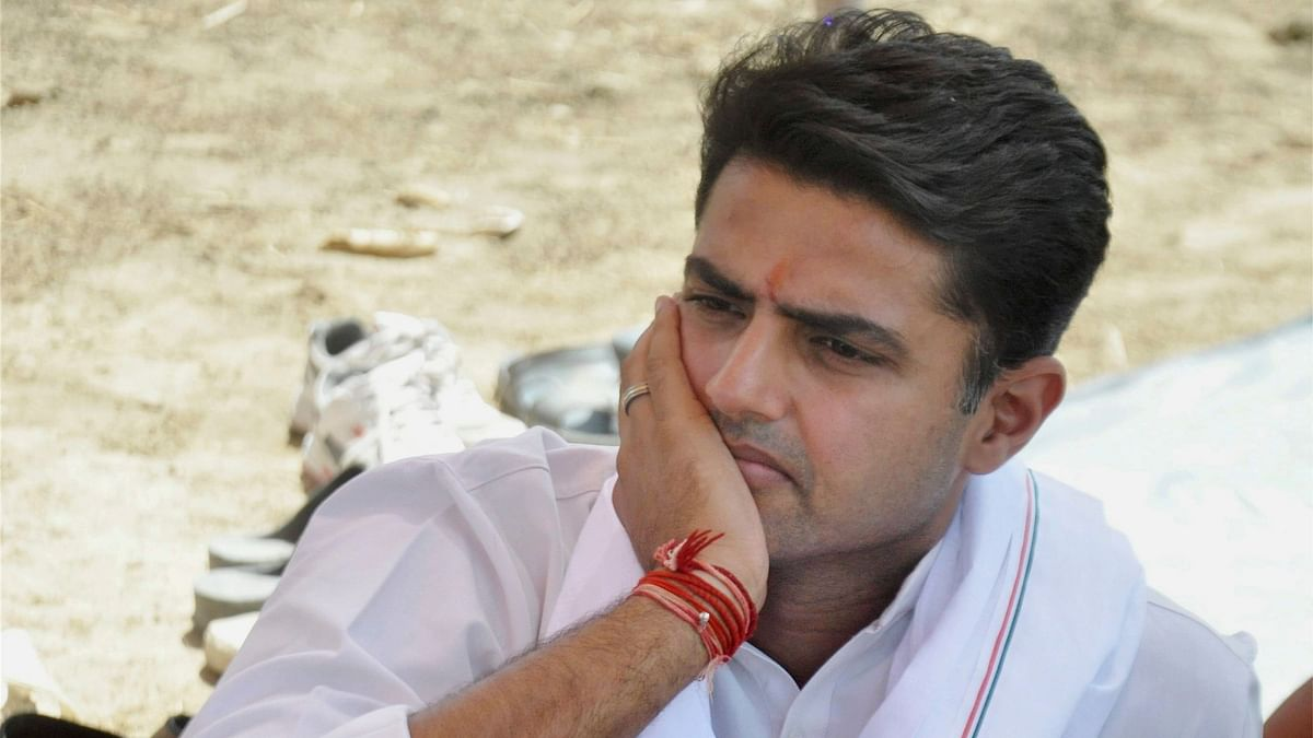 Rebel Congress leader Sachin Pilot.