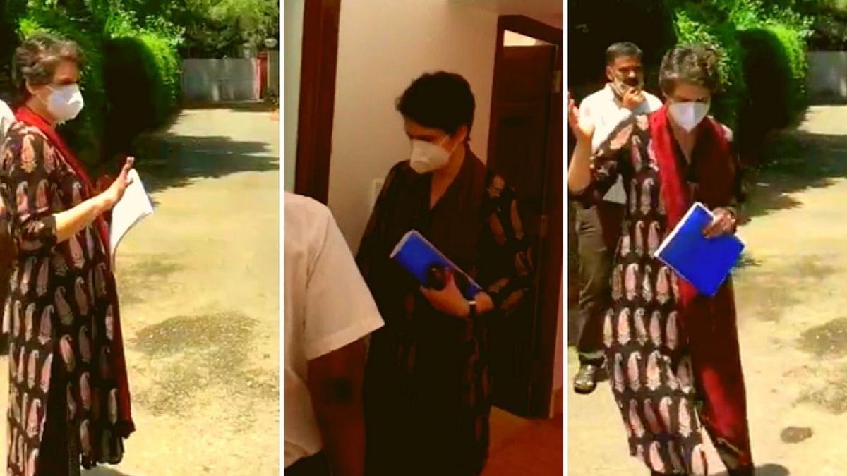 Priyanka Gandhi Vacates Govt-Alloted Bungalow in Lodhi Estate