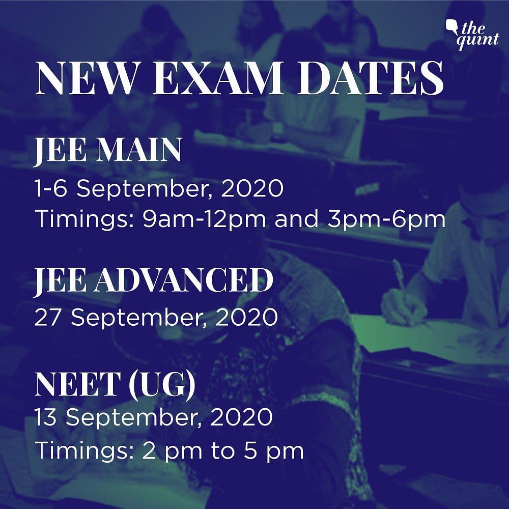 JEE Main, NEET (UG) 2020 Postponed to September: HRD Minister