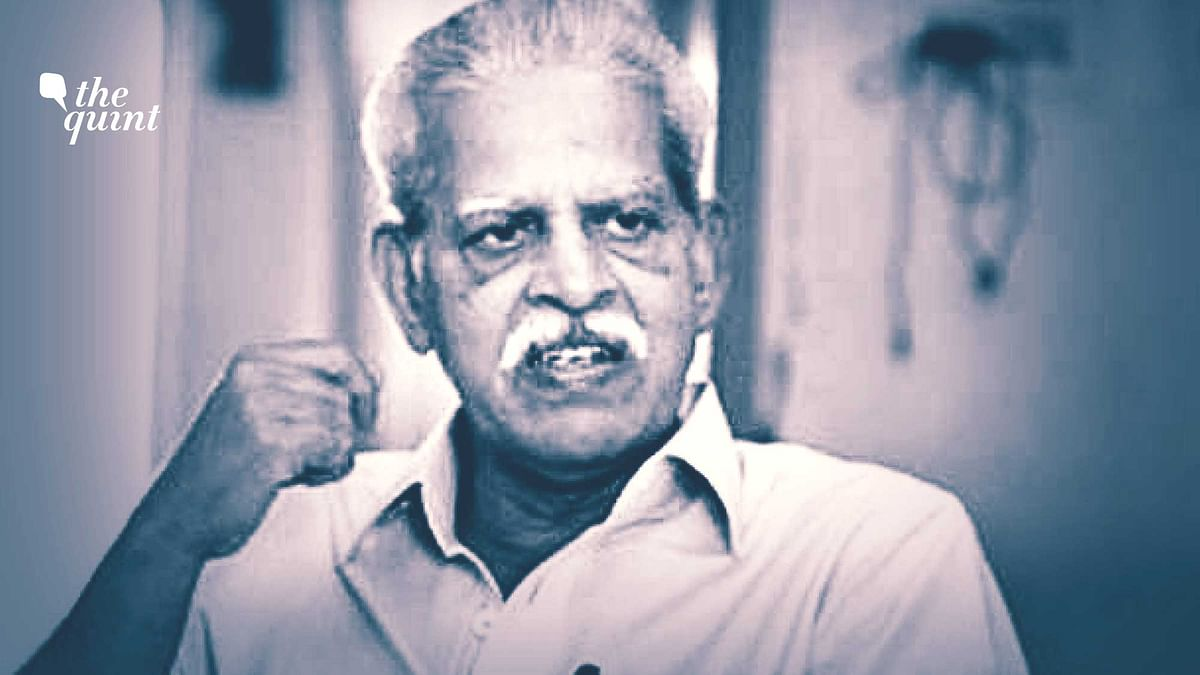 'How Can My Resistance Be Called Violence?': Varavara Rao