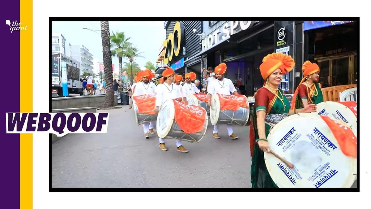 Spain Dhol Procession Wasn't Celebrating Ram Mandir Construction