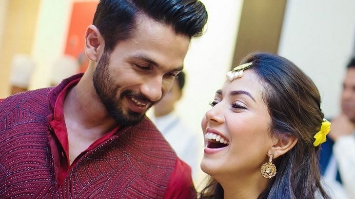 Mira Rajput and Shahid Kapoor celebrate 5 years of their wedding.
