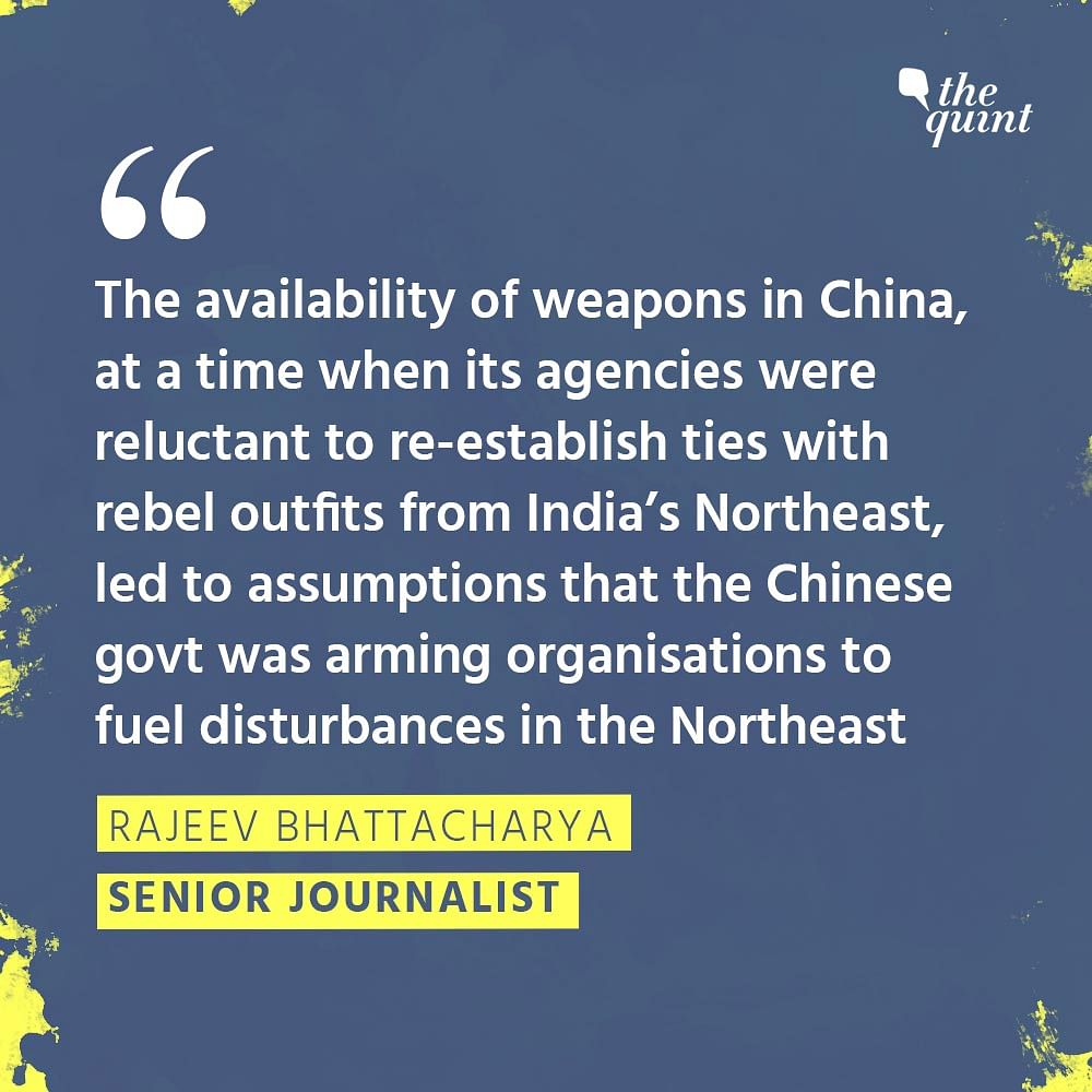 How China's 'Aid' To Rebel Groups Sustained Northeast Insurgency