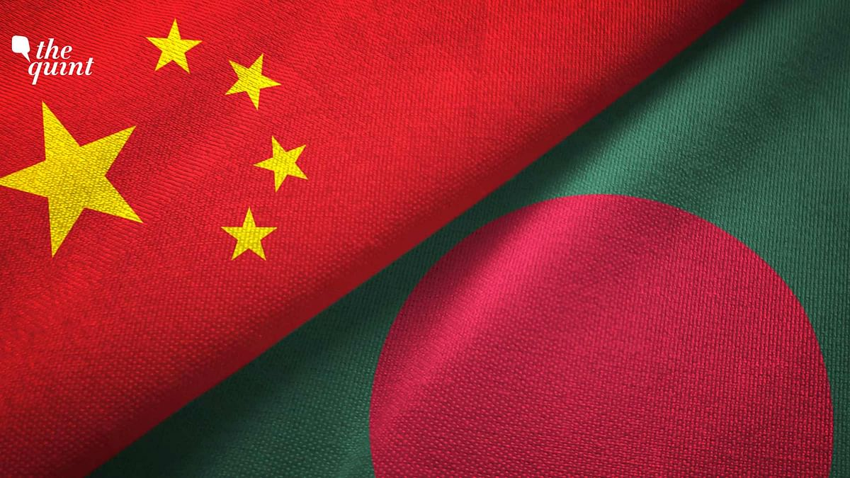 Image of China and Bangladesh flags used for representational purposes.