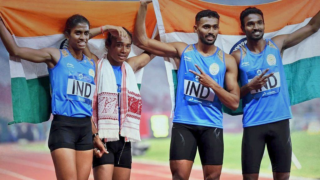 The silver medal that the Indian 4x400 mixed relay quartet won at the 2018 Asian Games has been made a gold.