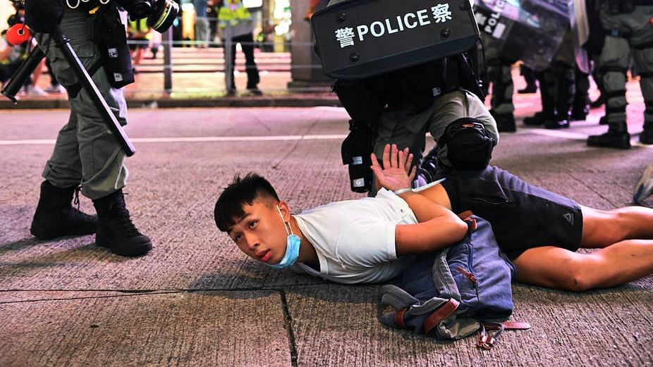 Protesting in Hong Kong now comes with hugely higher stakes.